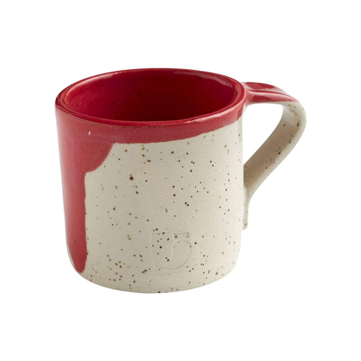The Painter's Wife Cups + Mugs Red Mug
