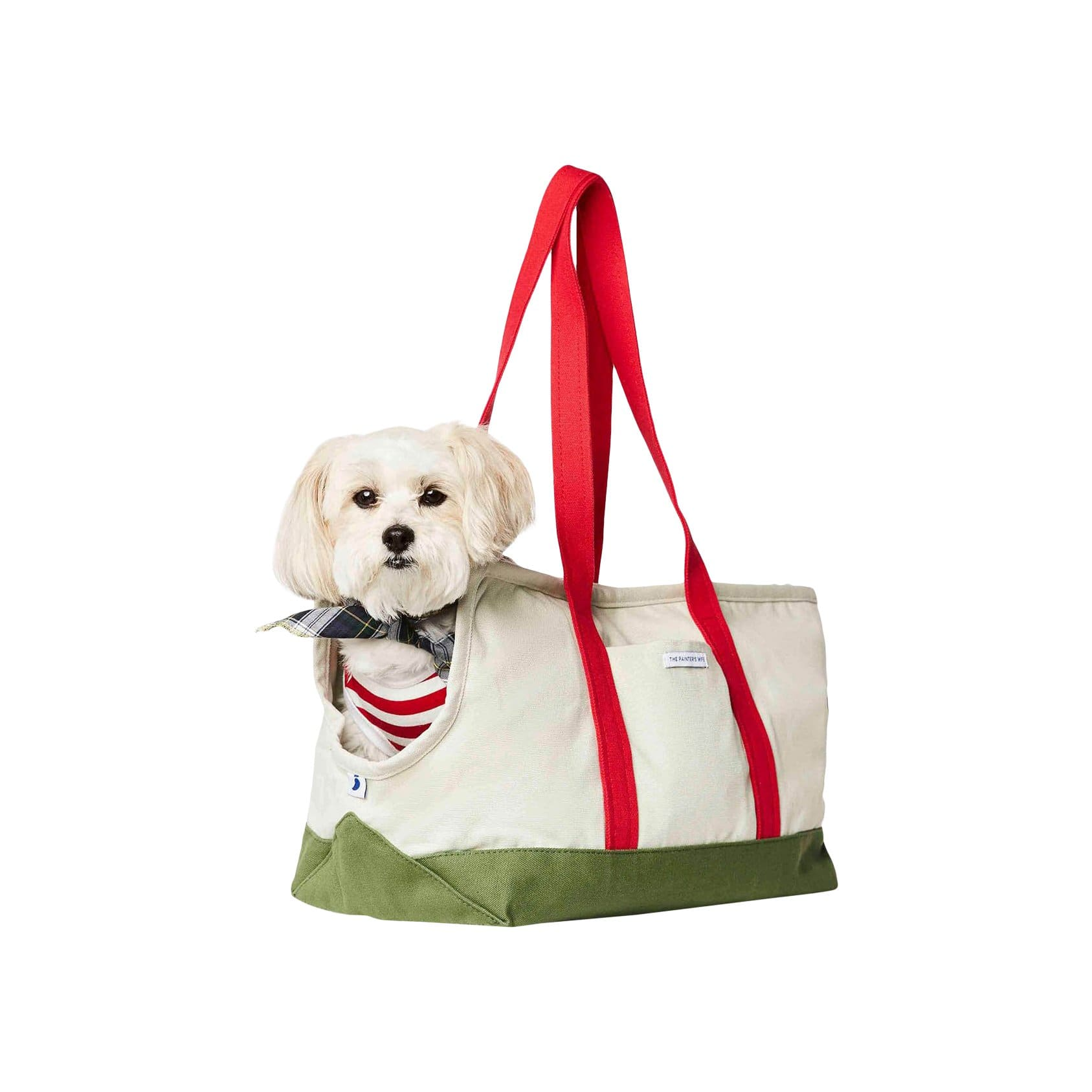 The Painter's Wife Pet Carriers + Bags Green + Red Dog Carrier