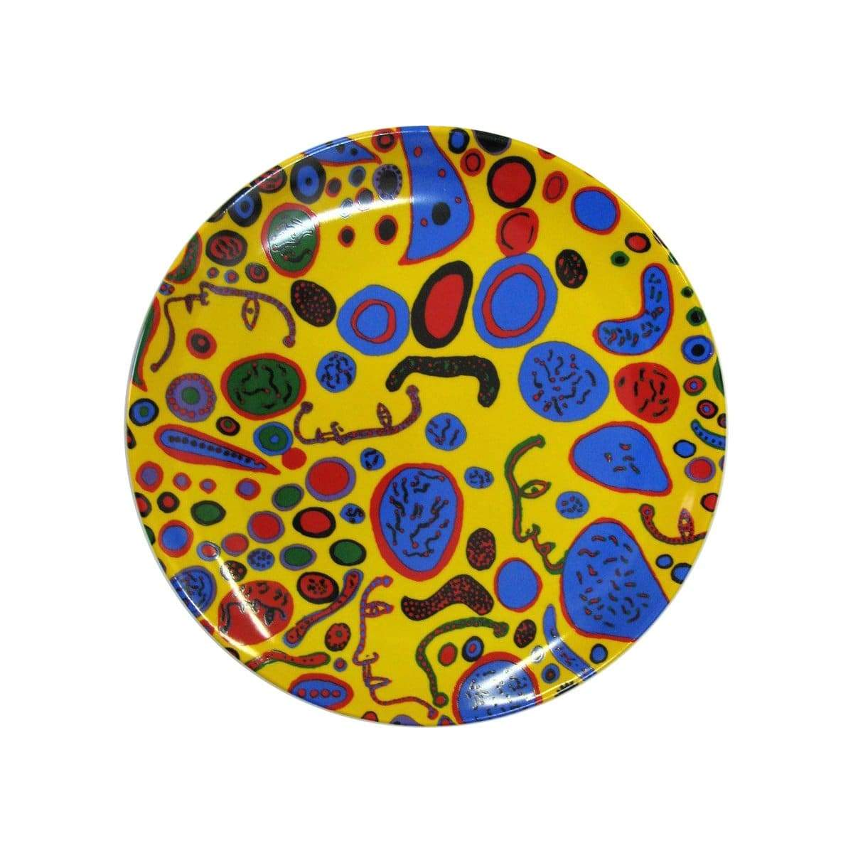 Love Was Infinitely Shining Ceramic Plate x Yayoi Kusama
