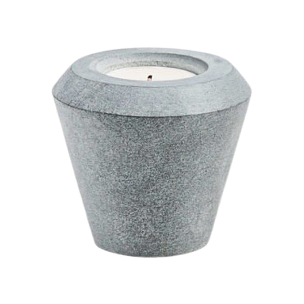 Cone of Stone Candleholder