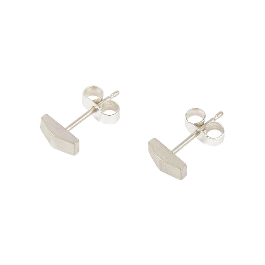 Tom Pigeon Earrings Béton Silver Apex Earrings