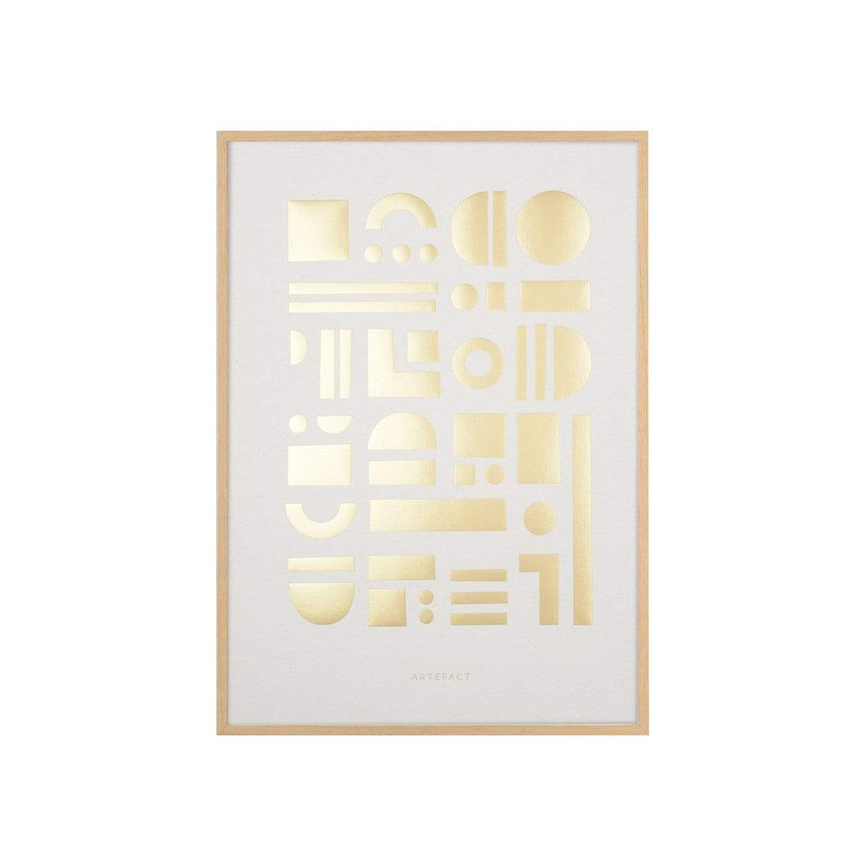 Tom Pigeon Photography + Prints Artefact Brass Art Print