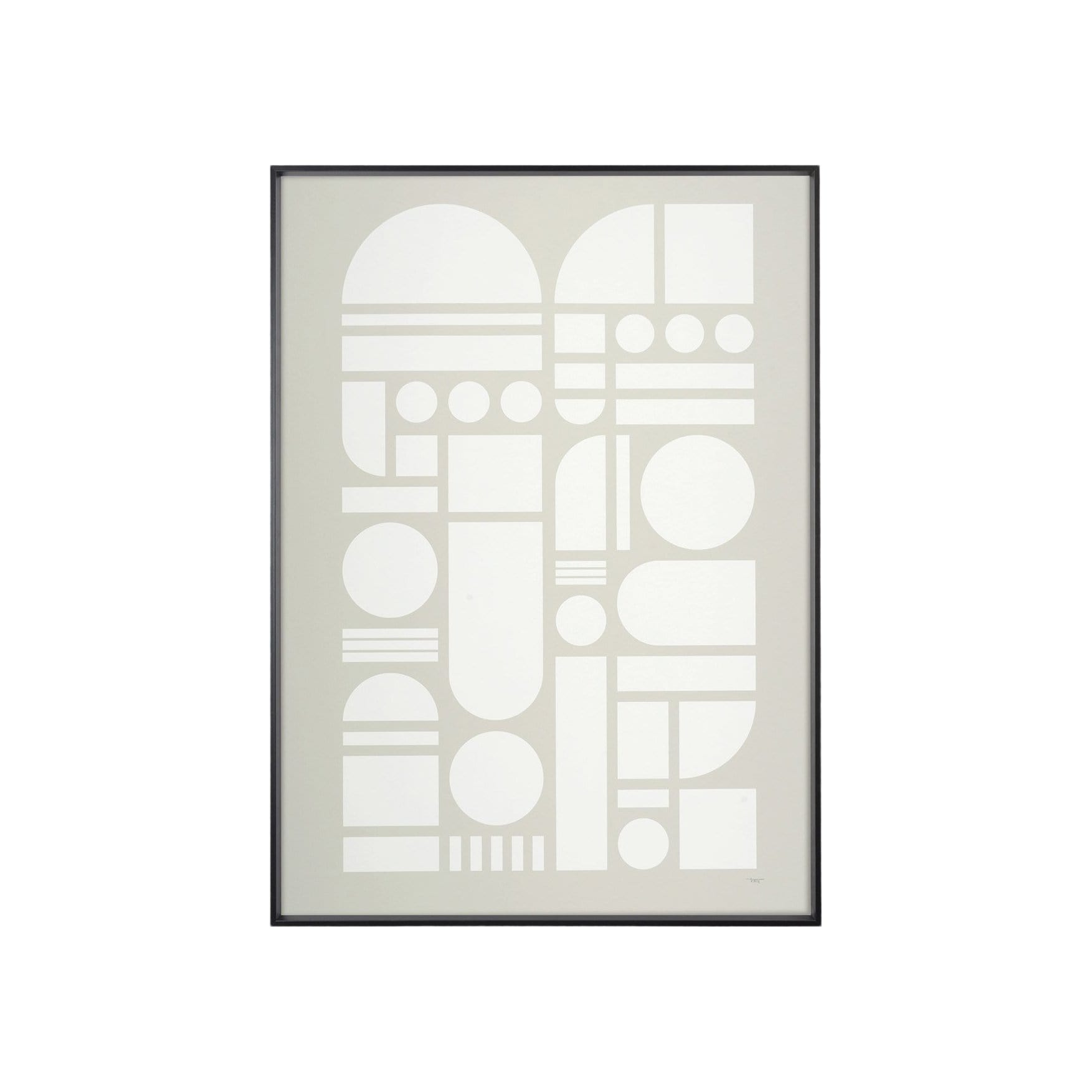 Tom Pigeon Photography + Prints Element Grey Art Print