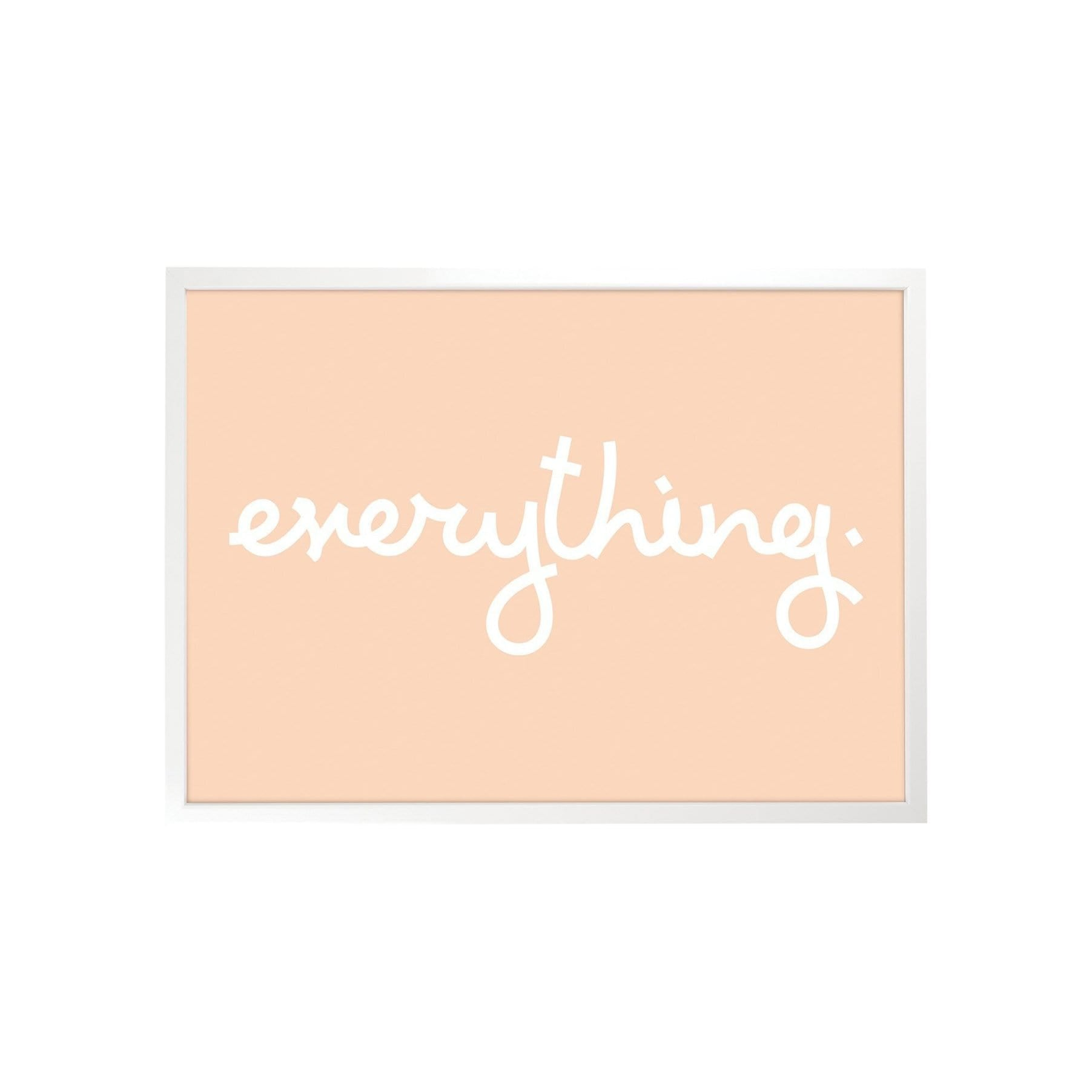 Tom Pigeon Photography + Prints Everything Art Print