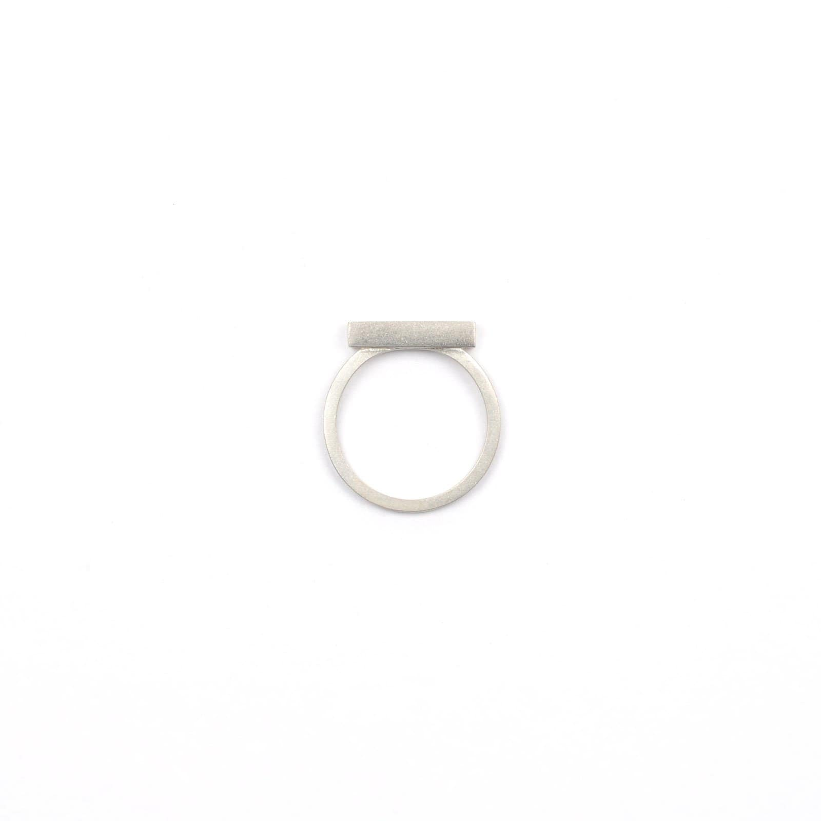Tom Pigeon Rings Béton Silver Ring