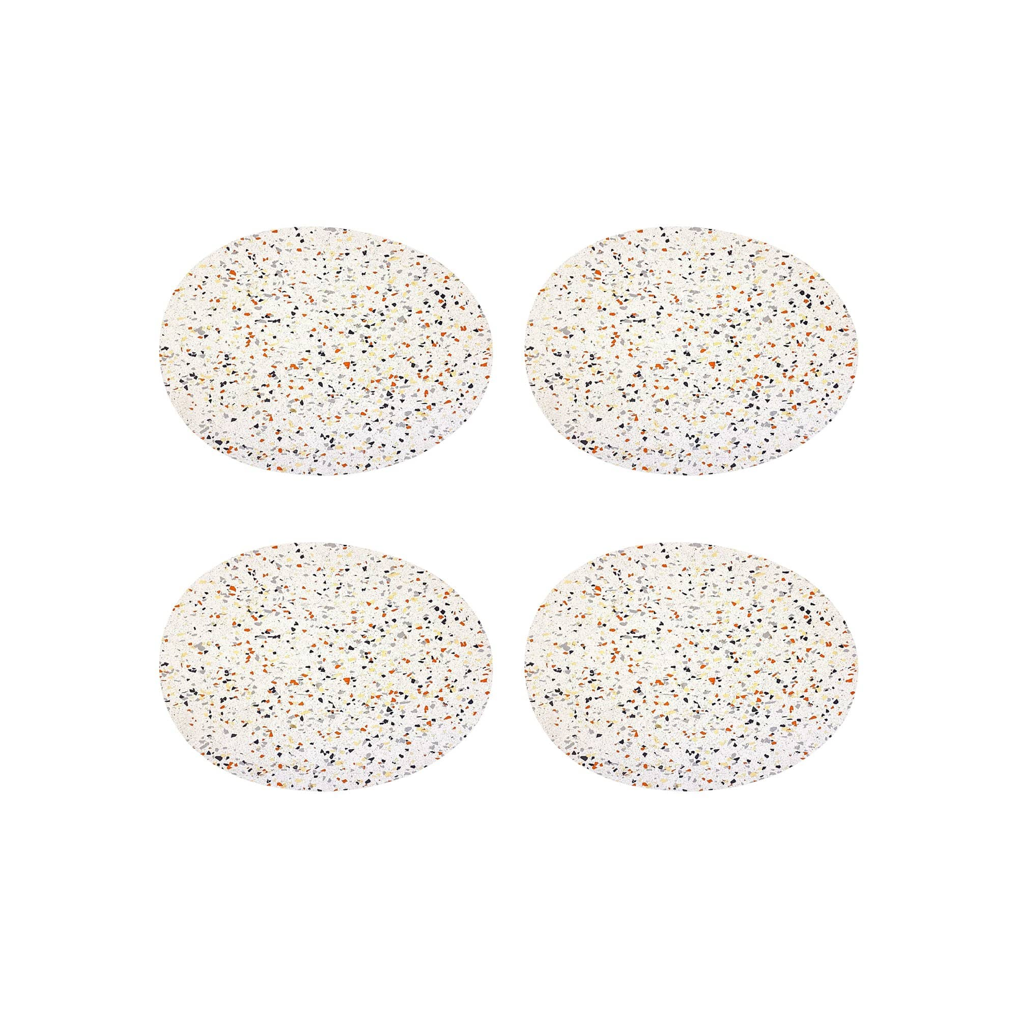 Cosmos Placemats in White
