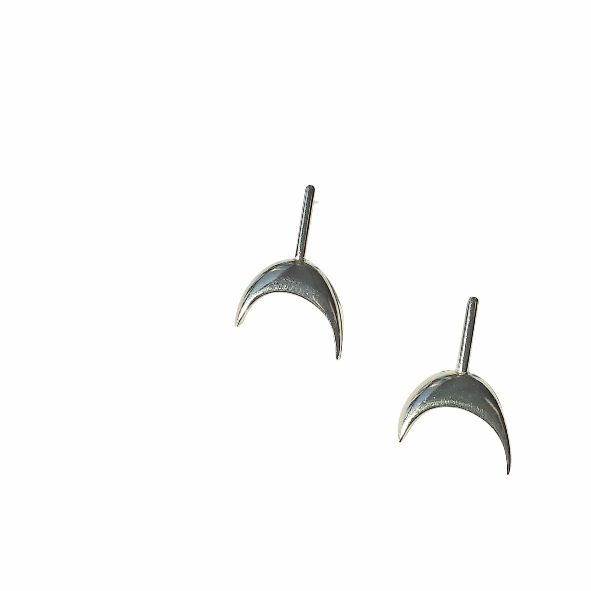 tothemetal jewelry Miro Silver Post Earrings