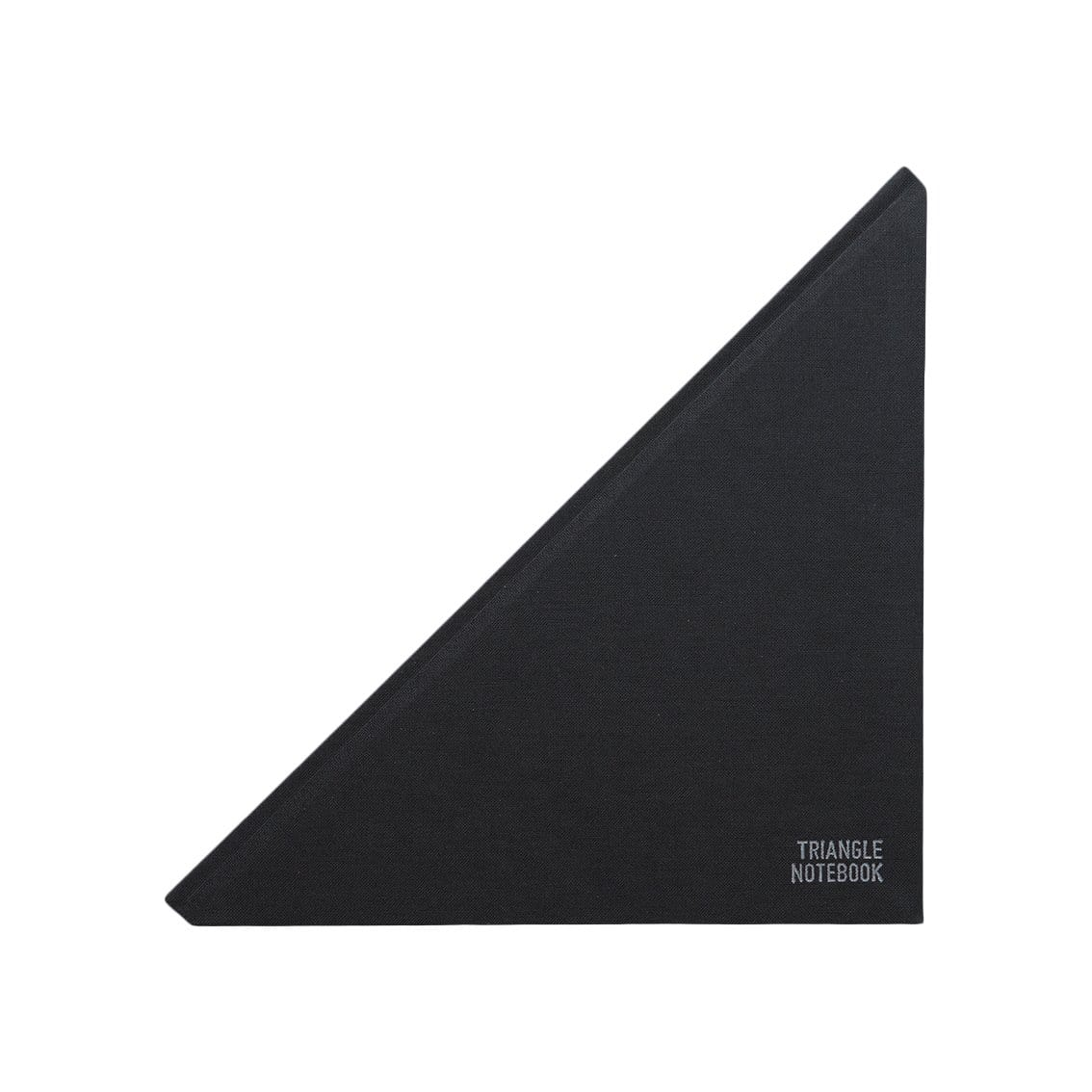 Triangle Notebooks Notebooks + Stationery Triangle Ruled Black Notebook