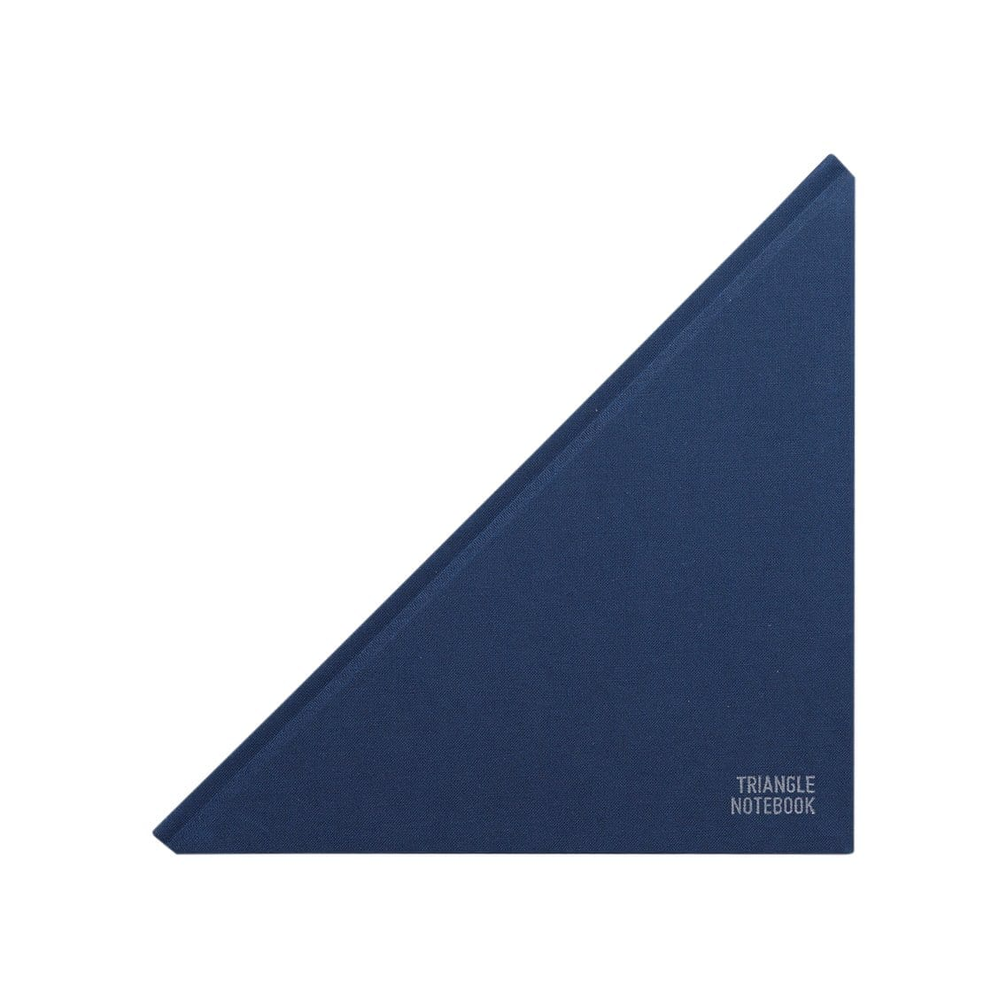 Triangle Ruled Navy Blue Notebook