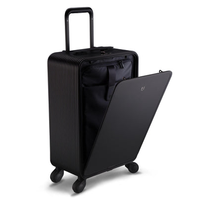 "TUPLUS Luggage Black Tuplus X2 22""Aluminum Carry-on"