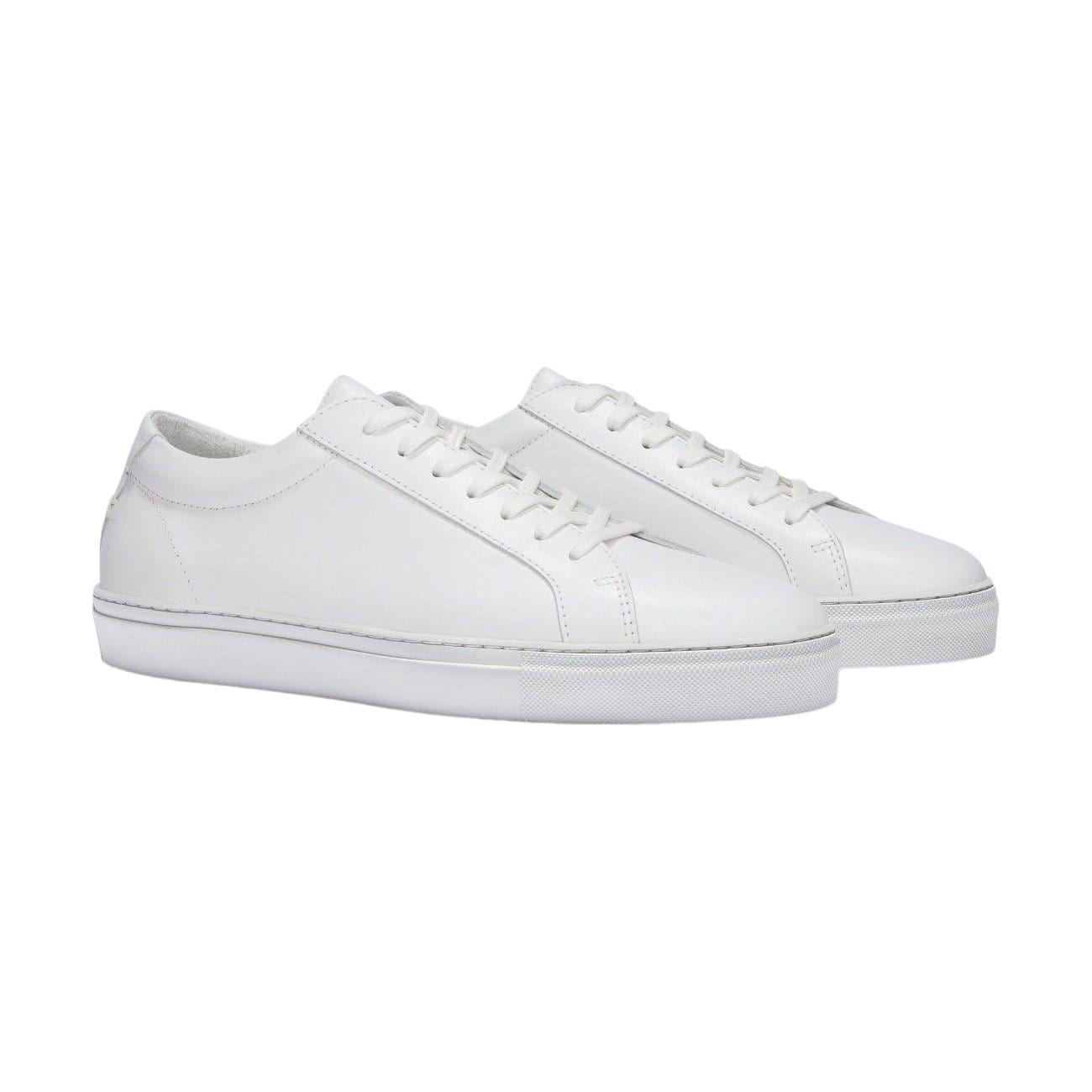 Women's SERIES 1 Triple White Leather Sneaker