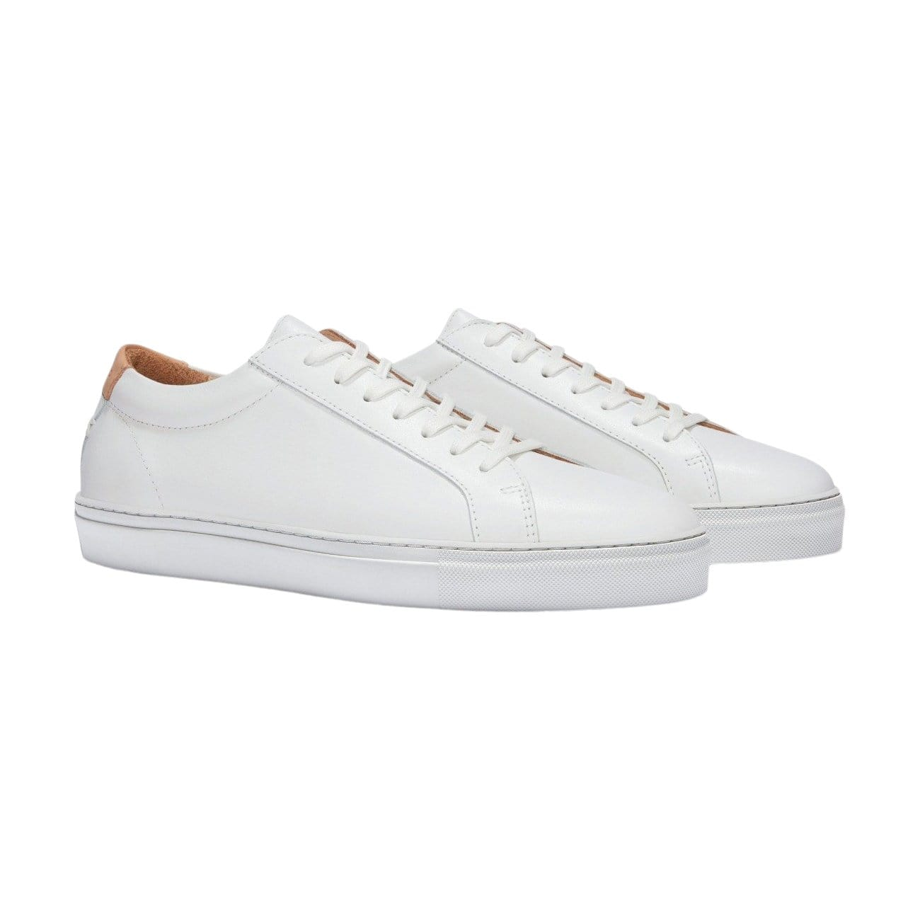 Women's SERIES 1 White Leather Sneaker