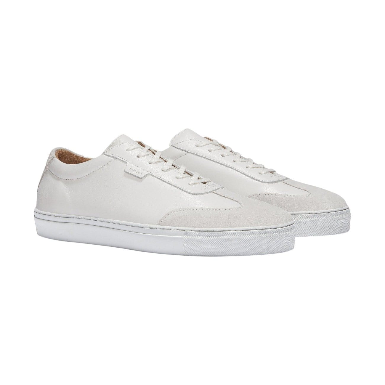 Women's SERIES 3 White Leather Sneaker