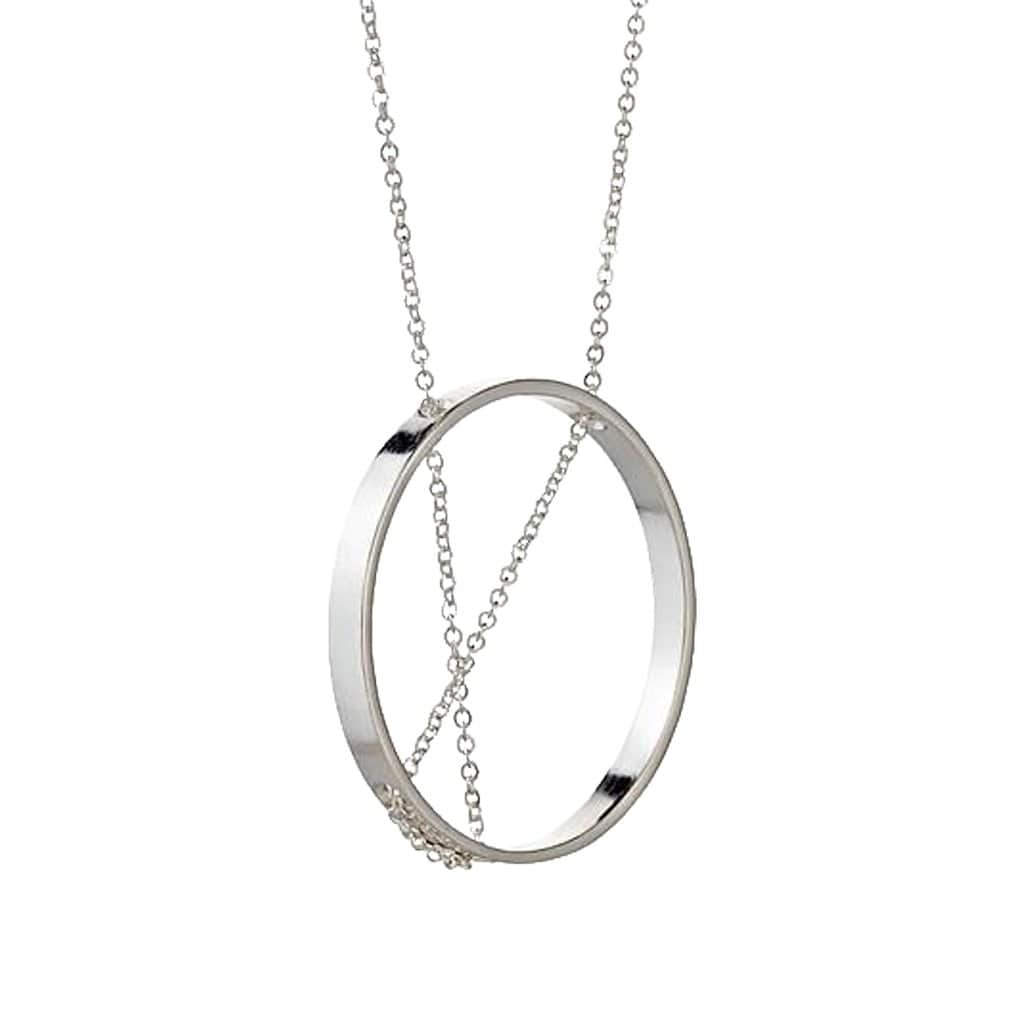 Inner Circle Sterling Silver Necklace