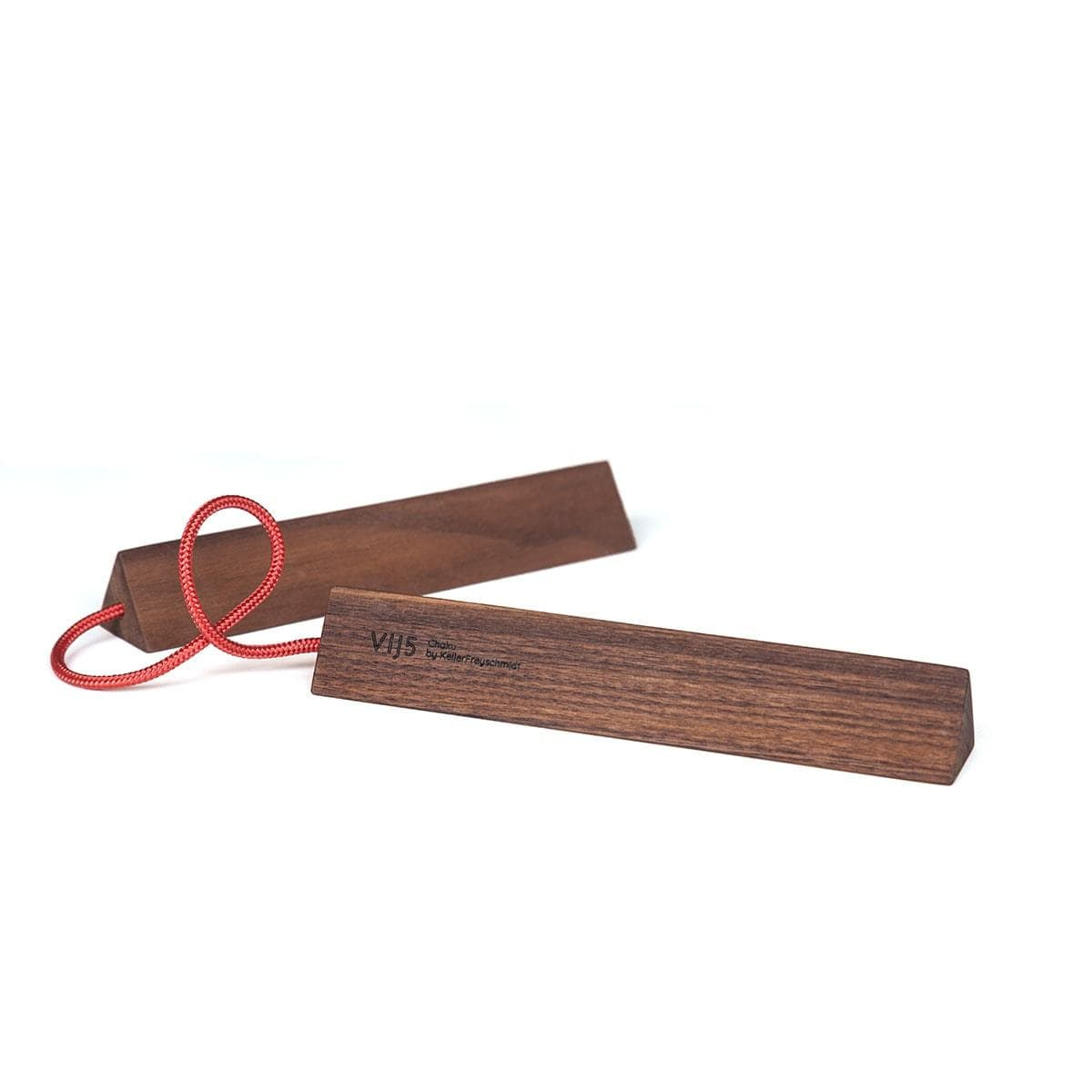 Chaku Walnut Trivet - Red Cord