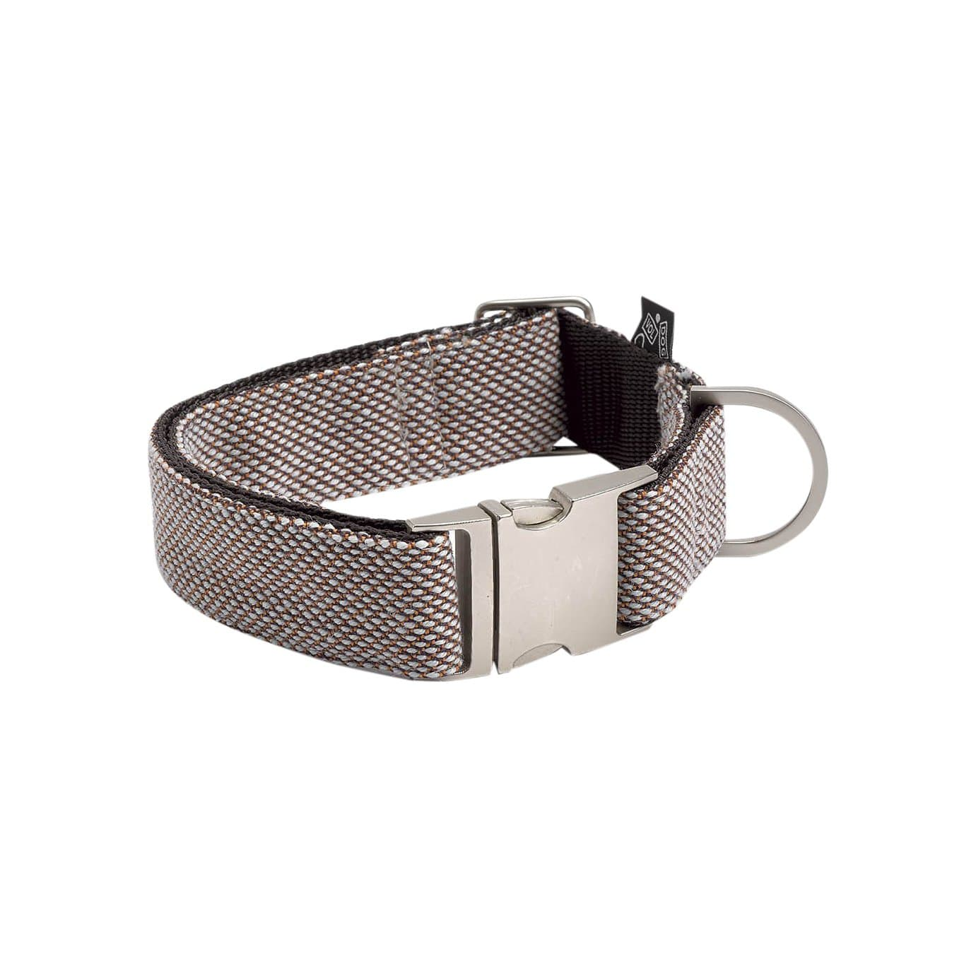 VOLDOG Collars + Harnesses Scoot Castaño Collar