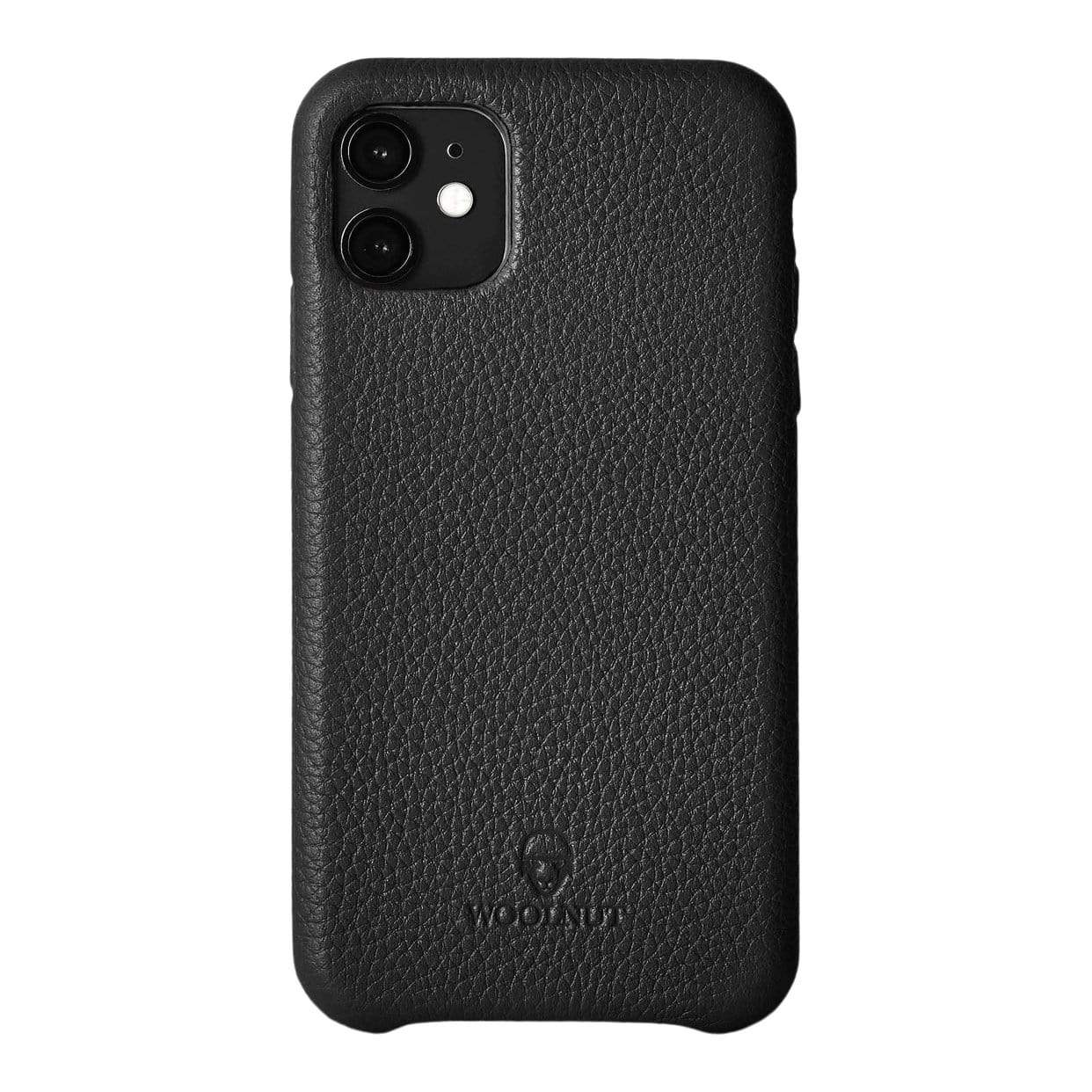Woolnut Tech Cases Black iPhone 11 Case