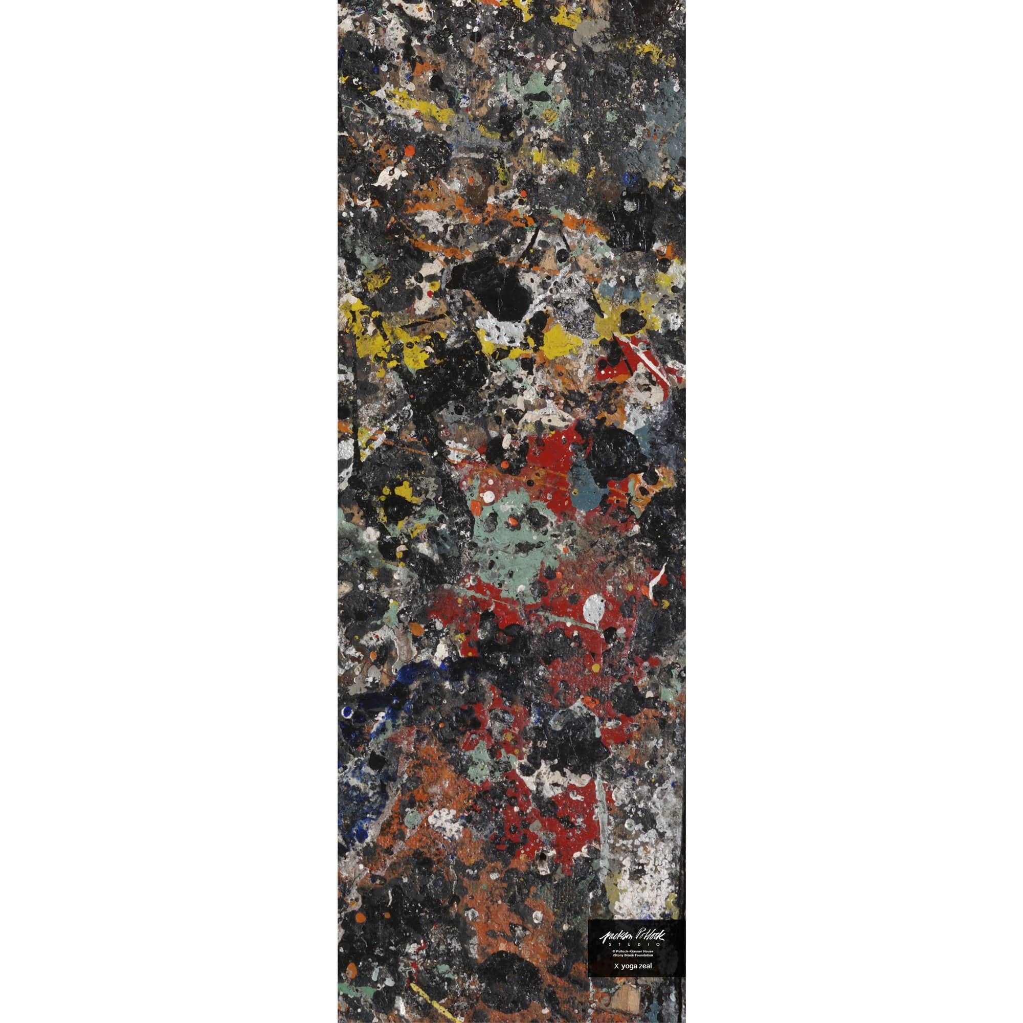 Yoga Zeal Yoga Jackson Pollock Studio Floor Mat x Yoga Zeal (Version 1)
