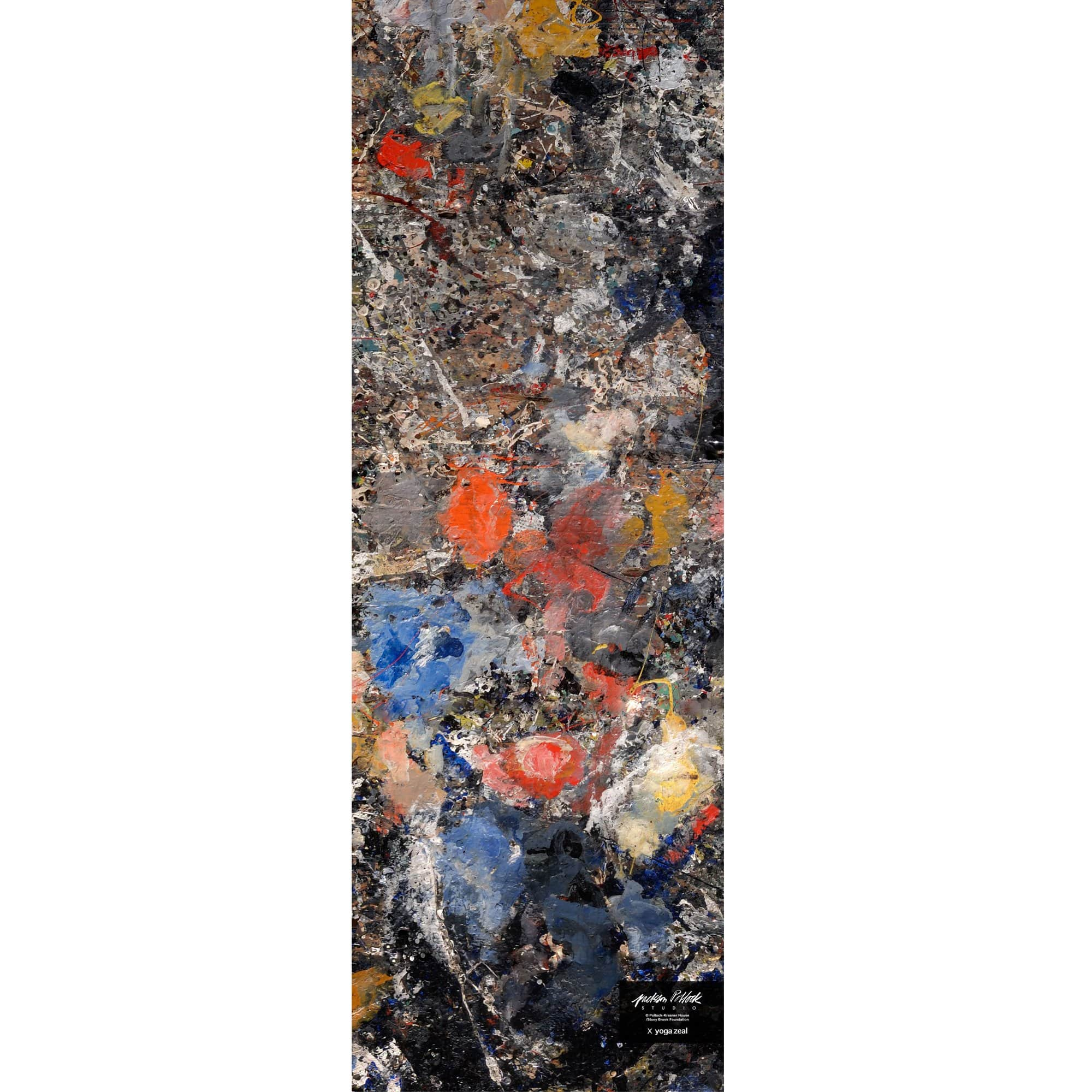 Yoga Zeal Yoga Jackson Pollock Studio x Yoga Zeal Floor Mat (Version 2)