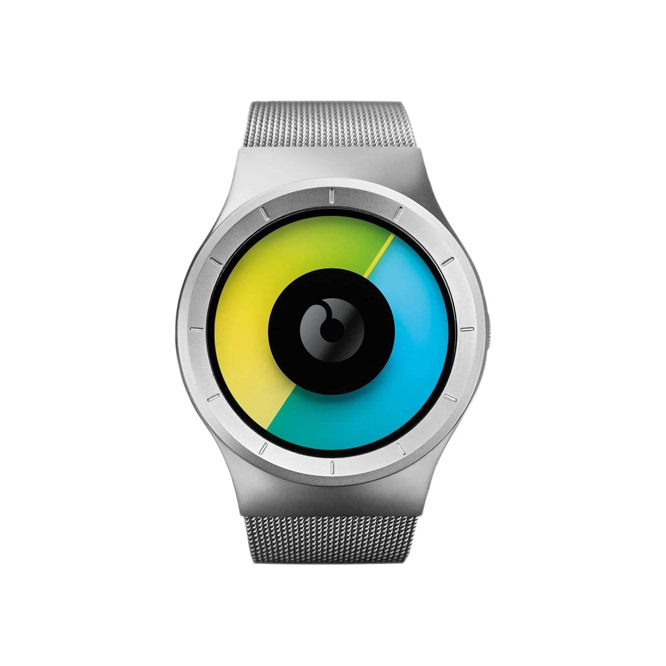 Celeste Watch in Chrome/Colored
