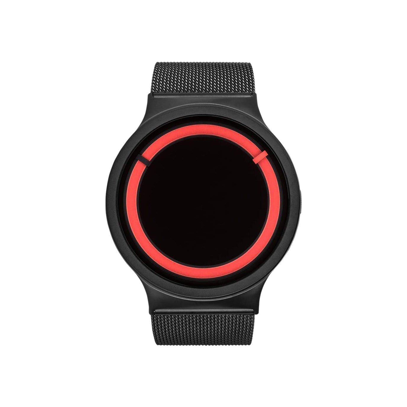 Eclipse Stainless Steel Watch in Black/Red