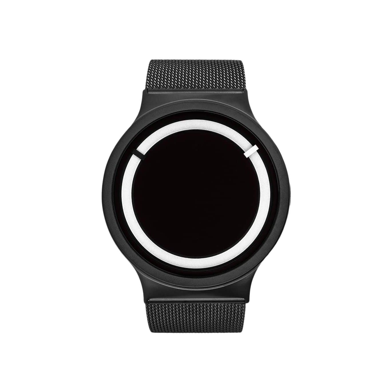 Eclipse Stainless Steel Watch in Black/Snow