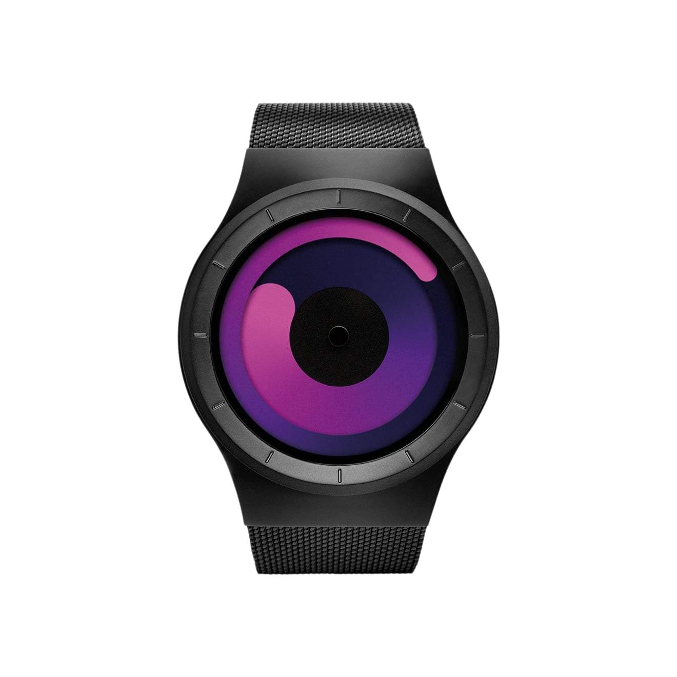 Mercury Watch in Black/Purple