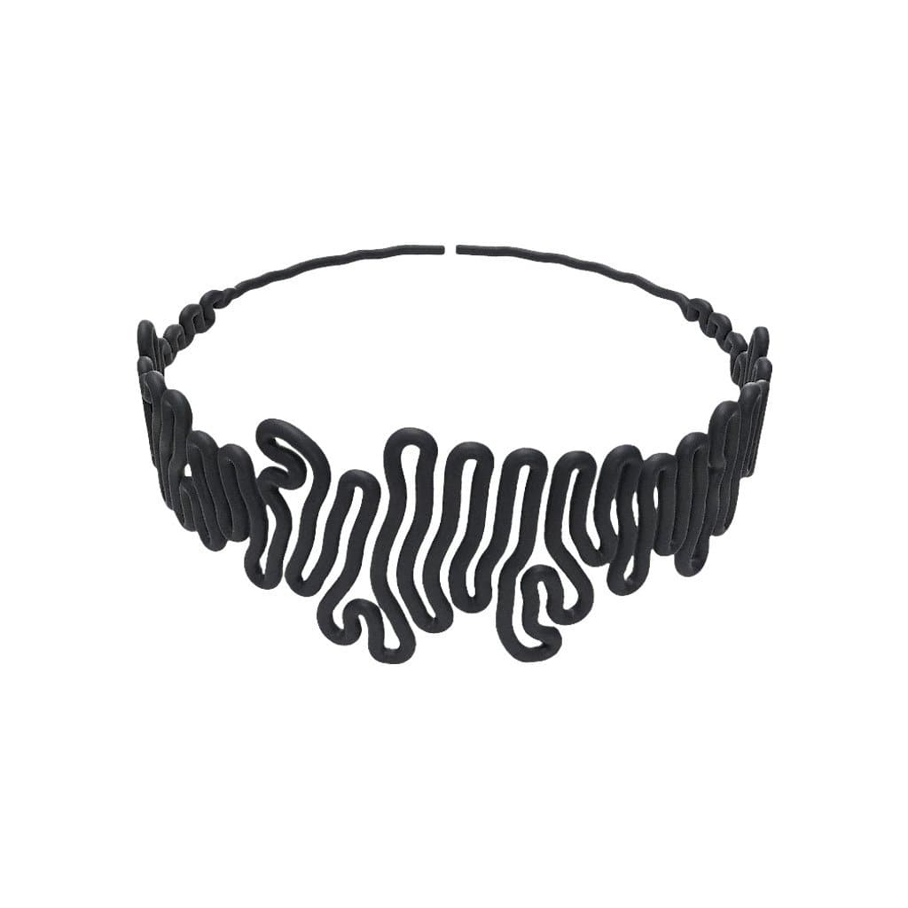 Zimarty Necklaces Squiggle 3D-Printed Chocker