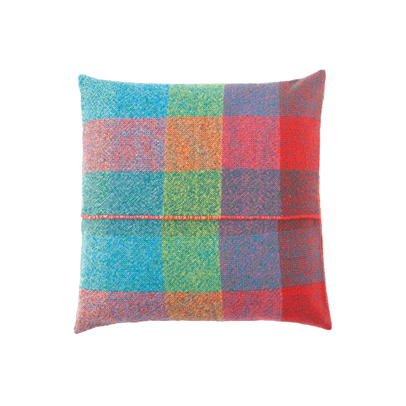 Integrate Handwoven Squares Cushion