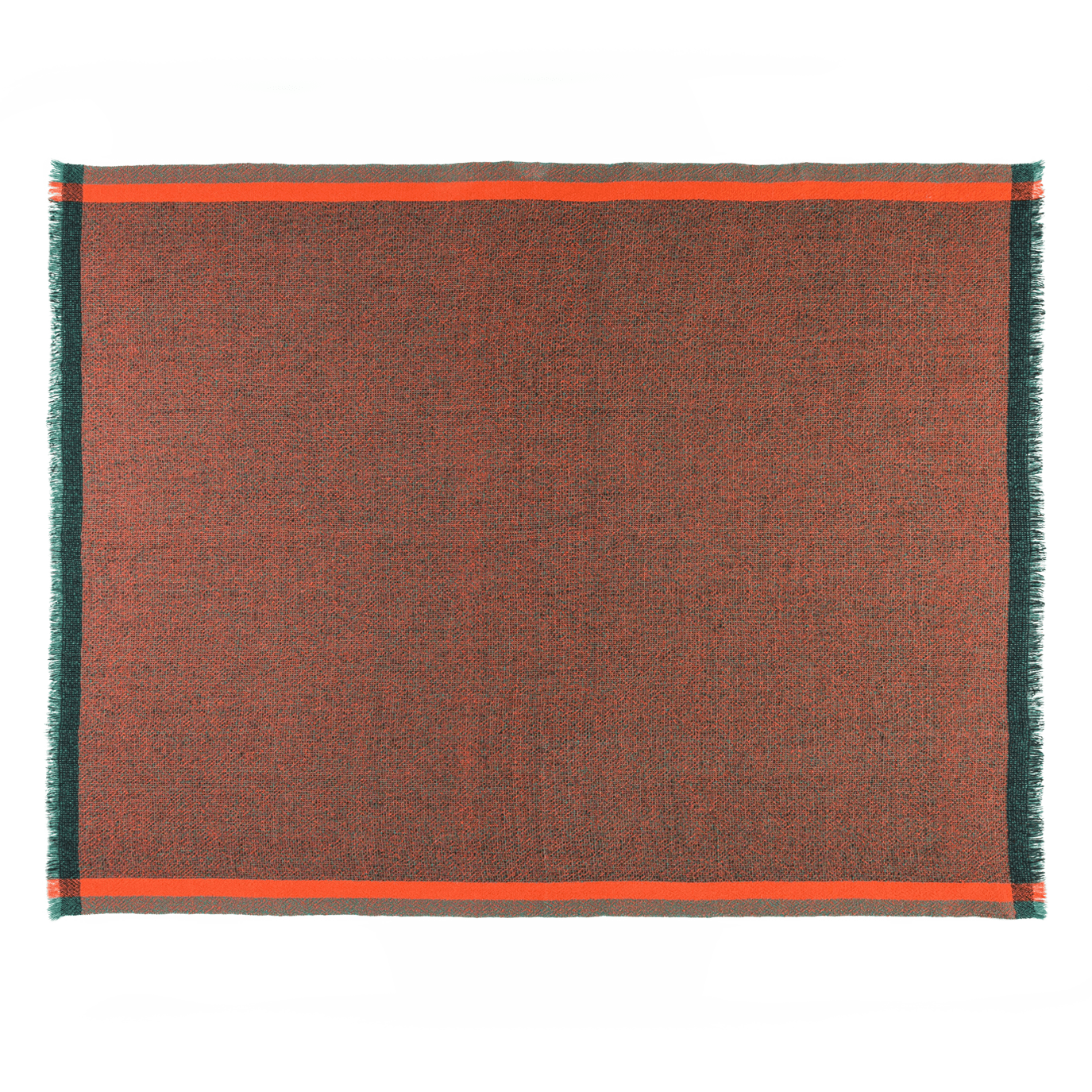Integrate Handwoven Thinking Red Throw