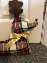 Load image into Gallery viewer, Christmas Rudolph Red Nose Reindeer Draught Excluder