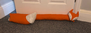 Orange Fox Draught Excluder