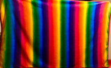 Load image into Gallery viewer, NEW XL Child & Baby Rainbow Fleece Blanket