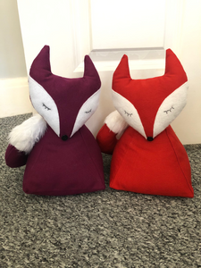 Mulberry Fox Doorstop