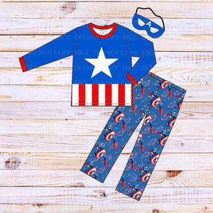 Superhero Loungewear Set-Captain America