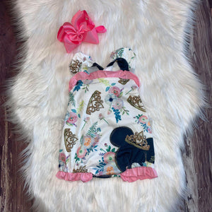 Minnie Crowned Princess Ruffle Romper