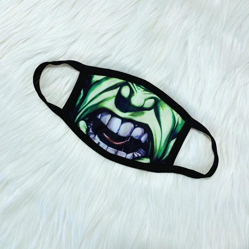 Superhero-Hulk Facemask