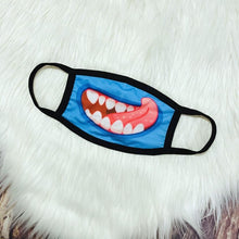 Load image into Gallery viewer, Monster Facemask-Blue Tongue