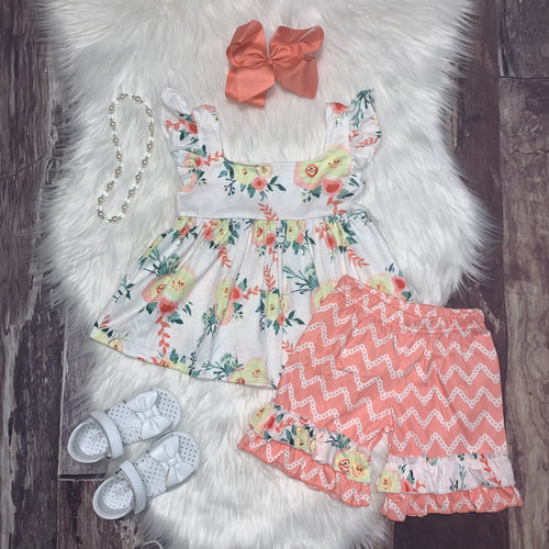 Honey Blossom Inspired Ellie Short Set