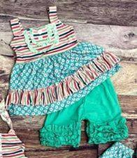 Country Shabby Tunic Set