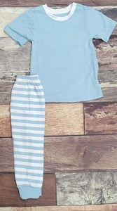 Striped Simple Pajamas