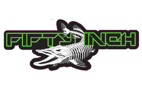 Decal - Skeleton Logo (Size - Large)