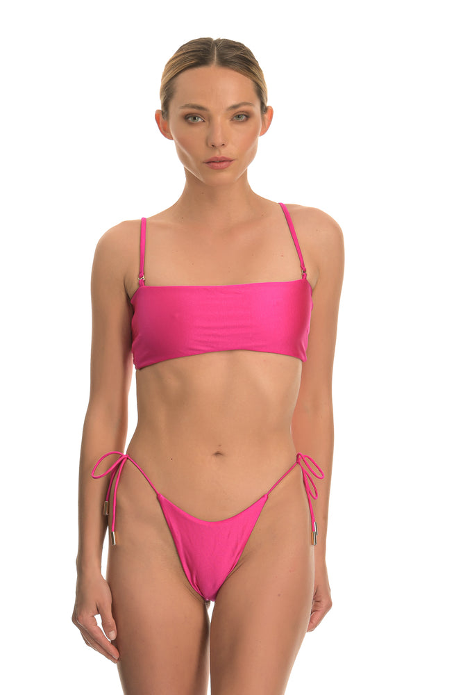 CETO BUBBLEGUM | TIE SIDE BIKINI BOTTOM