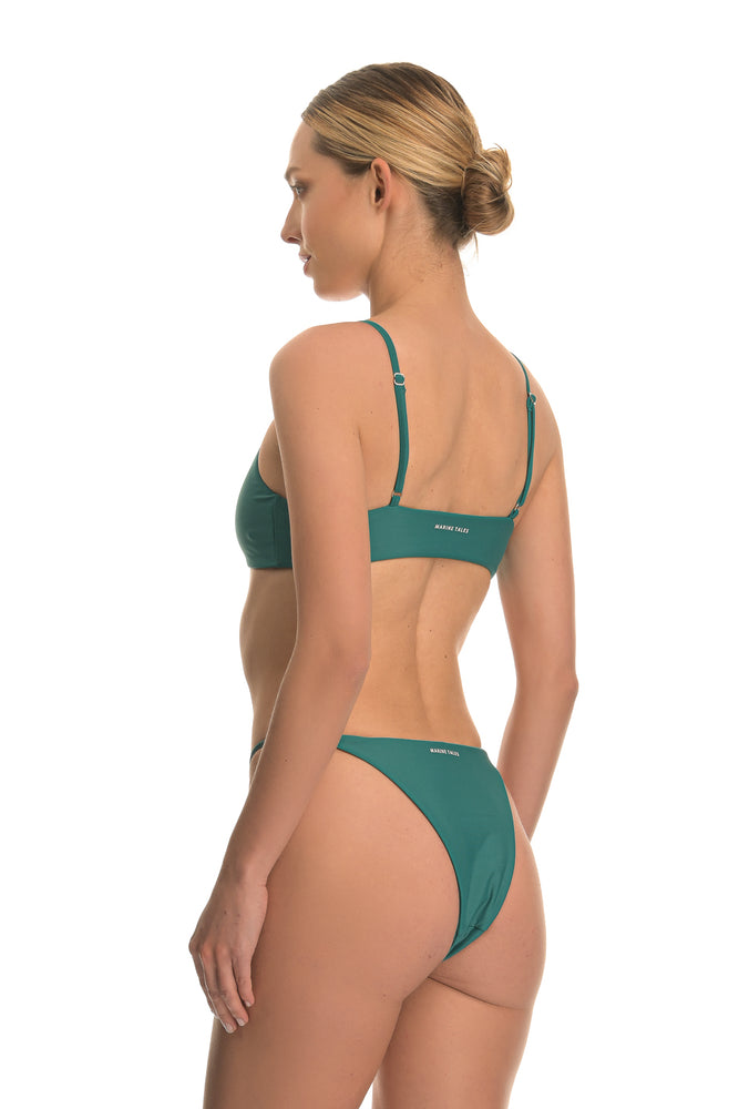 THETIS EMERALD | ADJUSTABLE BIKINI BOTTOM