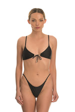 THETIS BLACK | ADJUSTABLE BIKINI BOTTOM
