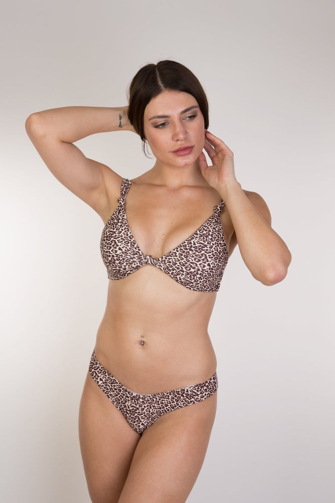 Leopard Push Up Bikini Set