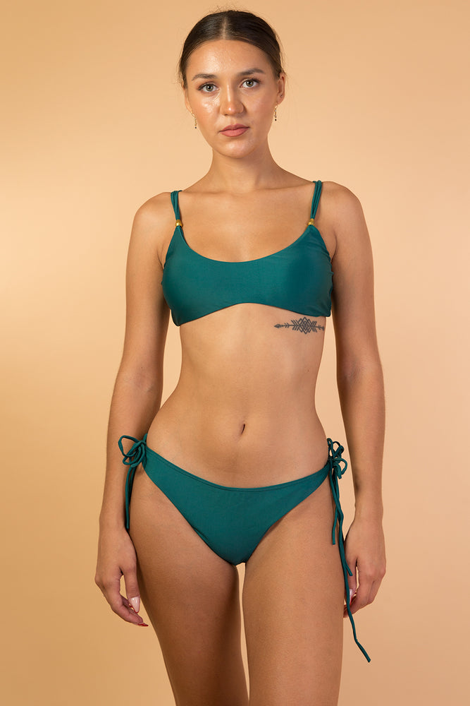 Green Emerald bikini set
