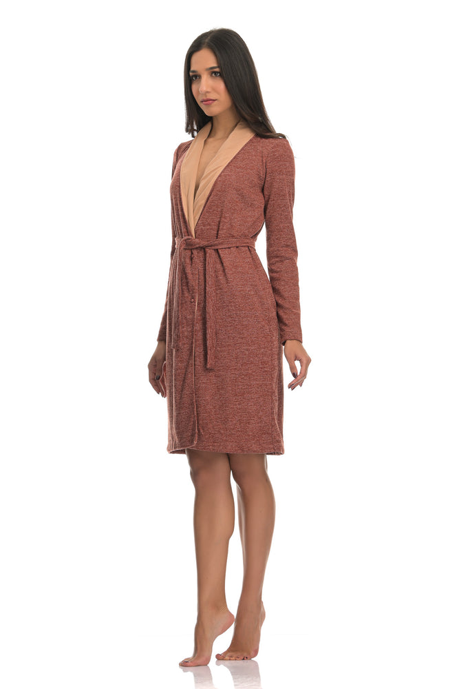 SCARLET RUST | EXCLUSIVE LOUNGE ROBE
