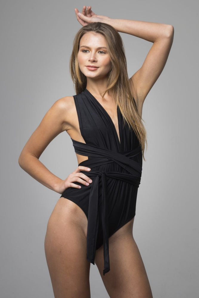 Black Adjustable One Piece