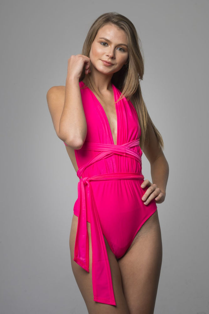Pink Adjustable One Piece